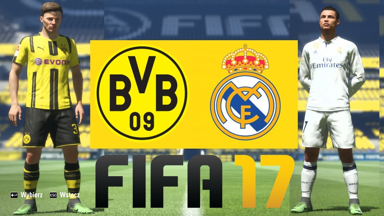 REAL MADRYT vs BORUSSIA DORTMUND – FIFA 17 HOGATY I FOORMAN – LIGA MISTRZÓW UEFA #10 [PL/PC]