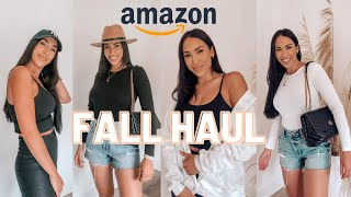 AMAZON FALL FASHION HAUL + OUTFIT IDEAS!