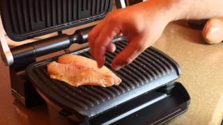 My First Fish On The T-Fal OptiGrill
