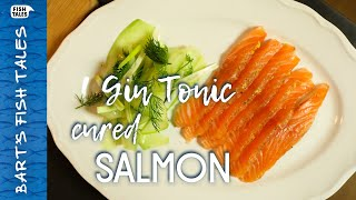Gin Tonic cured SALMON | Bart van Olphen