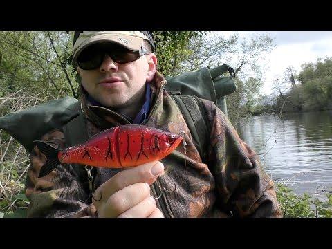 ловля на джерк на реке