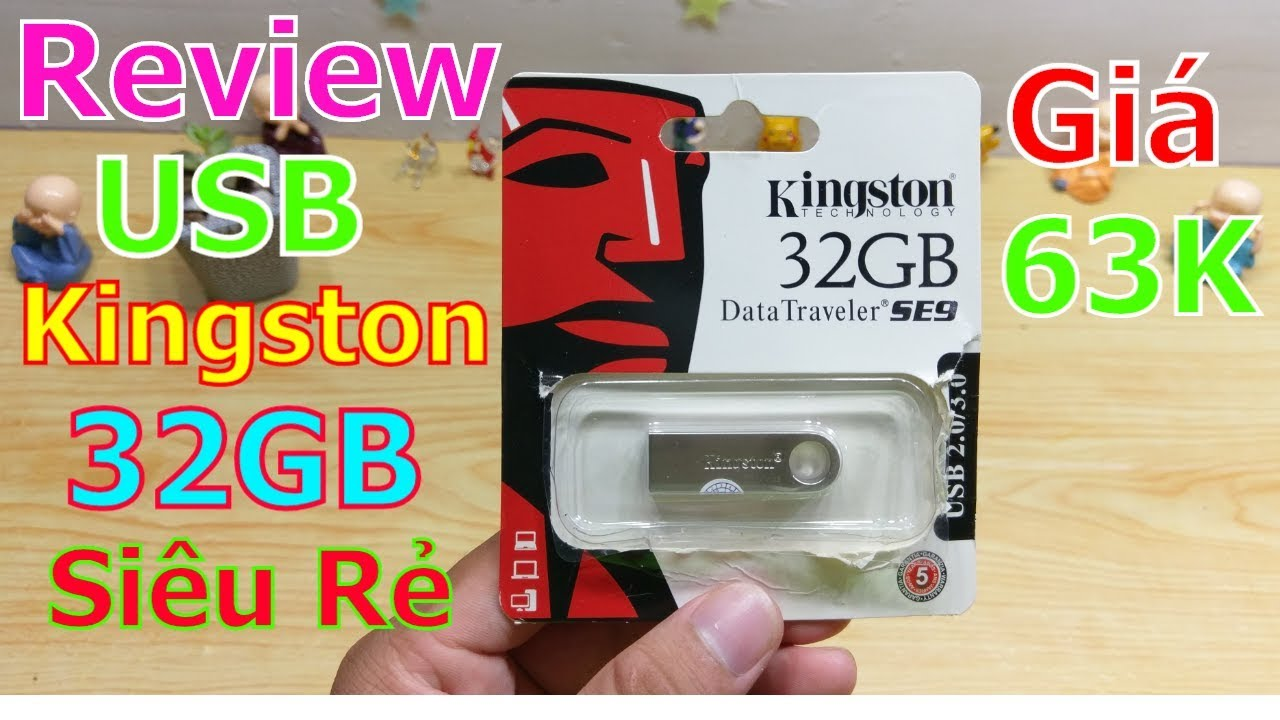 Trên Tay Usb Kingston 32GB – siêu nhỏ giá đã quá rẻ ?