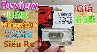 Trên Tay Usb Kingston 32GB - siêu nhỏ giá đã quá rẻ ?
