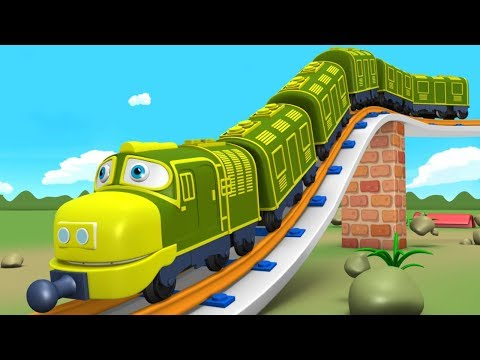 Thomas - Train Cartoon - Toy Train - Kids Videos for Kids - Toy Factory - Train Videos - JCB