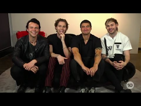5SOS Talk About CALM, Fire Fight Australia And Weddings On The Project TV