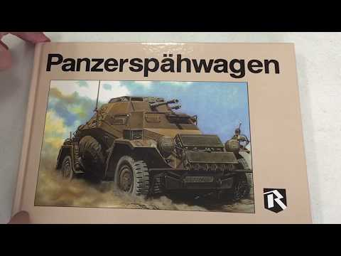Ryton Publications Panzerspahwagen book, A LOOK INSIDE