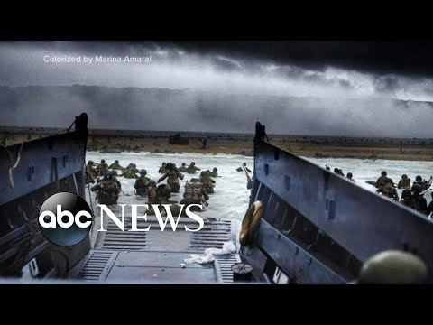 D-Day 75th anniversary: Honored and never forgotten