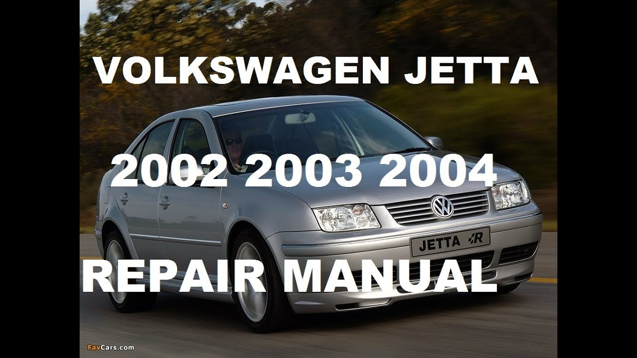 volkswagen jetta 2002 2003 2004 repair manual youtube rh youtube com