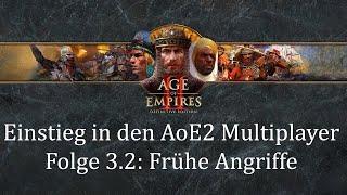 Einstieg in den Aoe2 Multiplayer | Folge 3.2: Frühe Angriffe (Berittene Späher)