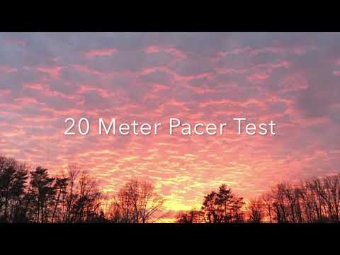 Fitnessgram 20 Meter Pacer Test 2017 Hip Hop Remix Full Length