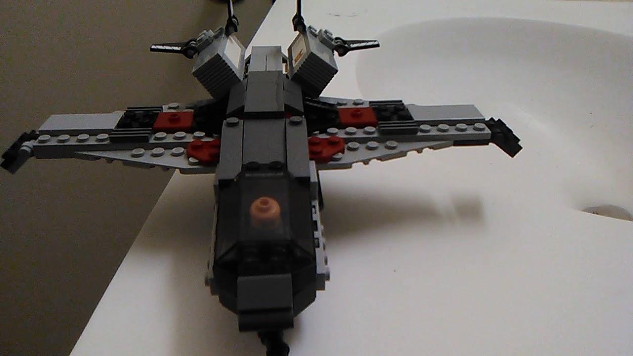 "LEGO Avengers Quinjet Moc ""1313-Alaskan King"" - YouTube"