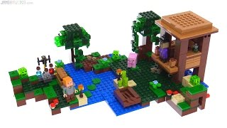 LEGO Minecraft The Witch Hut review! 21133