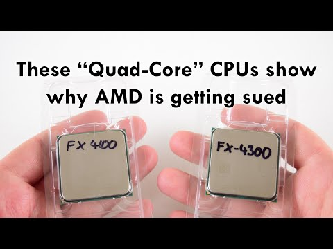 "AMD FX-4100 and FX-4300 ""Quad-Core"" processors in 2019"