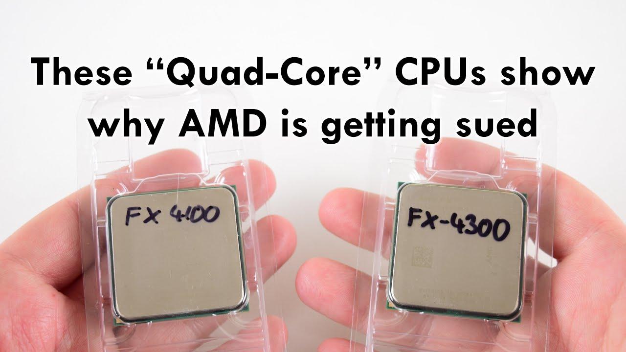 Amd Fx 4100 And Fx 4300 Quad Core Processors In 2019 Youtube