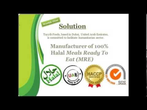 Tayyib Foods - Halal Meals Ready to Eat - YouTube