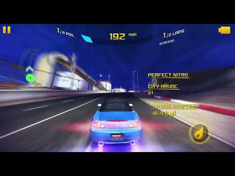 Asphalt 8 Honda S2000 Multiplayer Gameplay (With Eurobeat)