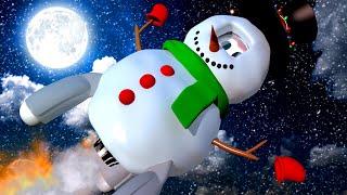 РАКЕТА Роки - СНЕГОВИК! - Малярная Мастерская Тома 🎄 Мультфильмы для детей