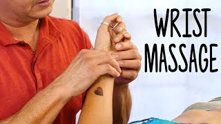 Sports Massage for Wrist Pain, Hands & Arms, Carpal Tunnel, Prevent Injury, Advanced Techniques