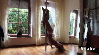 Vid 4: Pole Dance Level 3 Spins & Tricks to Stephen Schwartz - Bullet Train