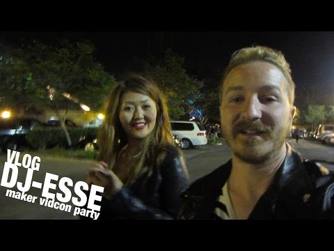 #DJ-ESSE - Maker VIDCON Party 2014