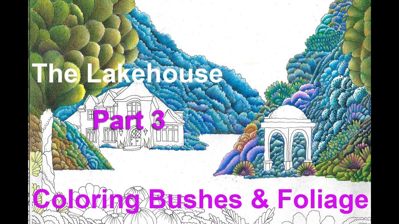 The Lakehouse Coloring Page For Adults PART THREE Lisa Brando ...