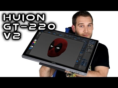 Huion GT-220 v2 PEN DISPLAY TABLET Review