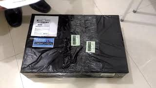Unboxing LG 19M38A - B