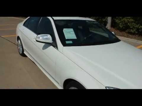 2008 MERCEDES BENZ C300 ARCTIC WHITE #055890 DALLAS, TX ...