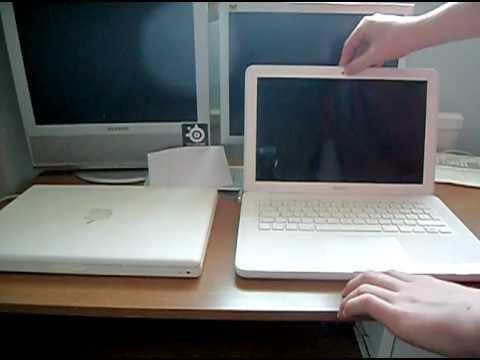 Macbook 2006 Vs Macbook 2010 Youtube