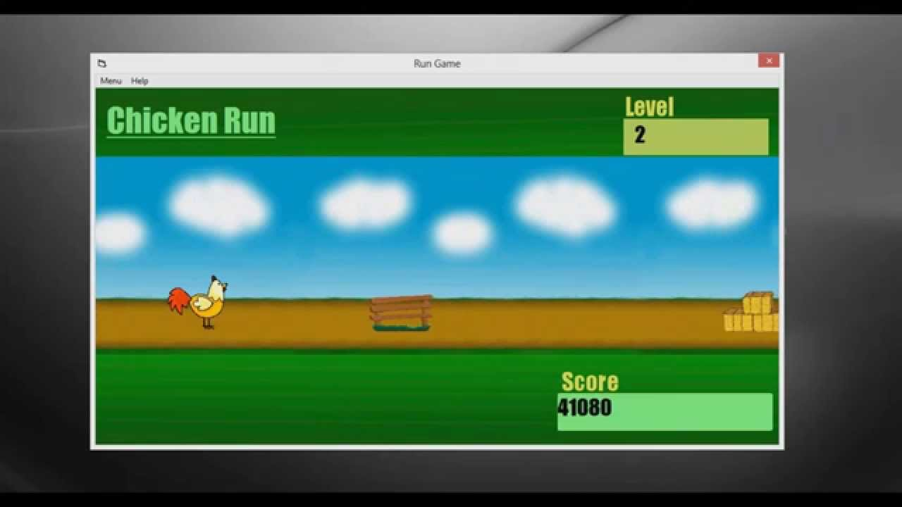 Chicken Run Visual Basic 6 0 Game With DOWNLOAD Code