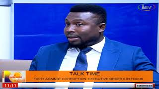 TalkTime On MorningDelight: Fight Against Corruption Executive Order 6 In Focus