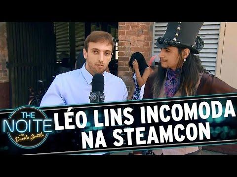 """The Noite (14/08/15) - Léo Lins Vai Descobrir O Que é A """"SteamCon"""""""
