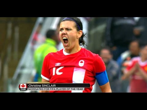 Christine Sinclair nominated for soccer player of the year | CBC Sports