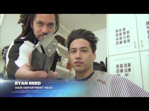 Defiance  Season One   On Set with Jesse Rath   Make Up