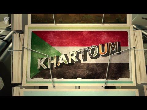 postcards Khartoum Sudan