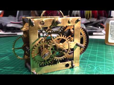 HL Hubbell Clock Movement Repair