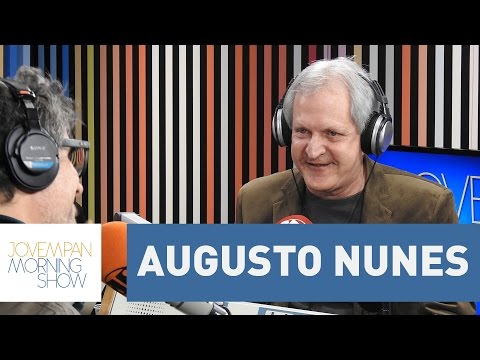 Augusto Nunes - Morning Show - 10/08/16
