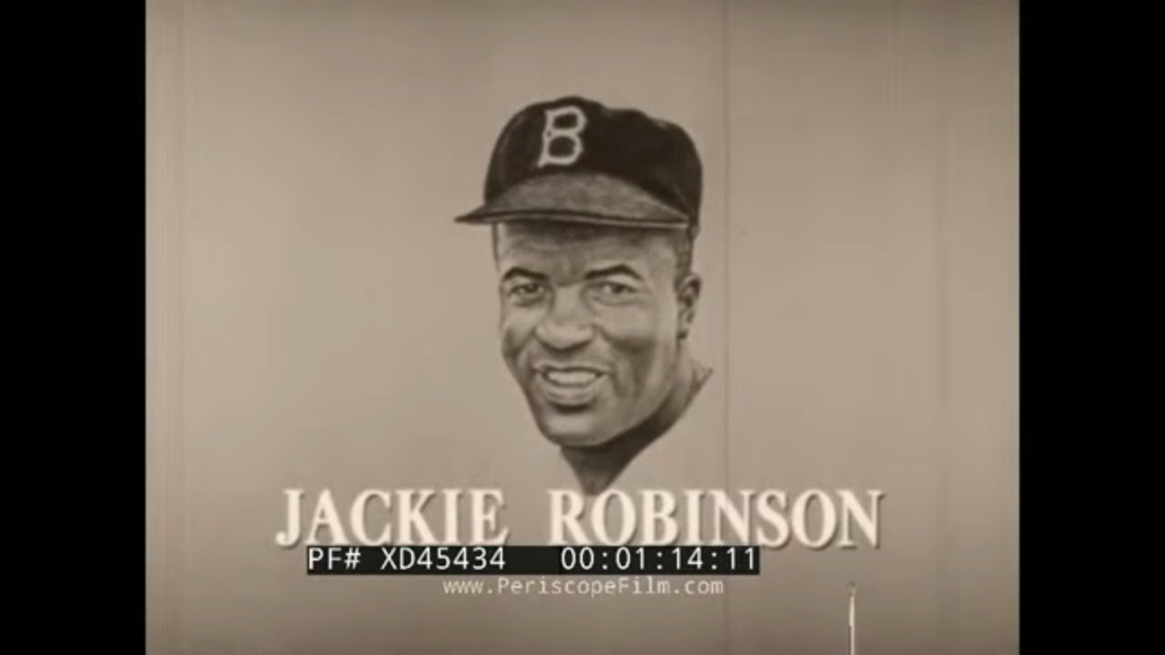 """Download """"  JACKIE ROBINSON """" 1963 BIOGRAPHY TV EPISODE 1st AFRICAN AMERICAN IN MAJOR LEAGUE BASEBALL XD45434"""