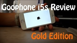 goophone i5s review iphone 5s clone gold edition
