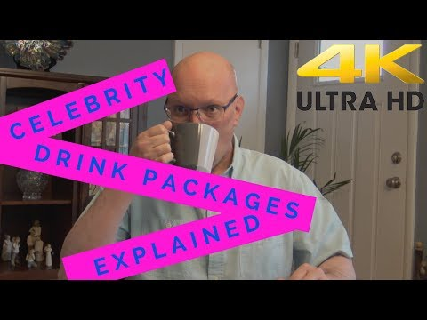 Celebrity Drink Packages