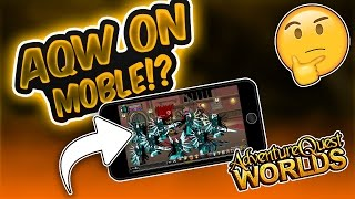 COMMENT JOUER AQW SUR MOBILE! IOS/ANDRIOD!