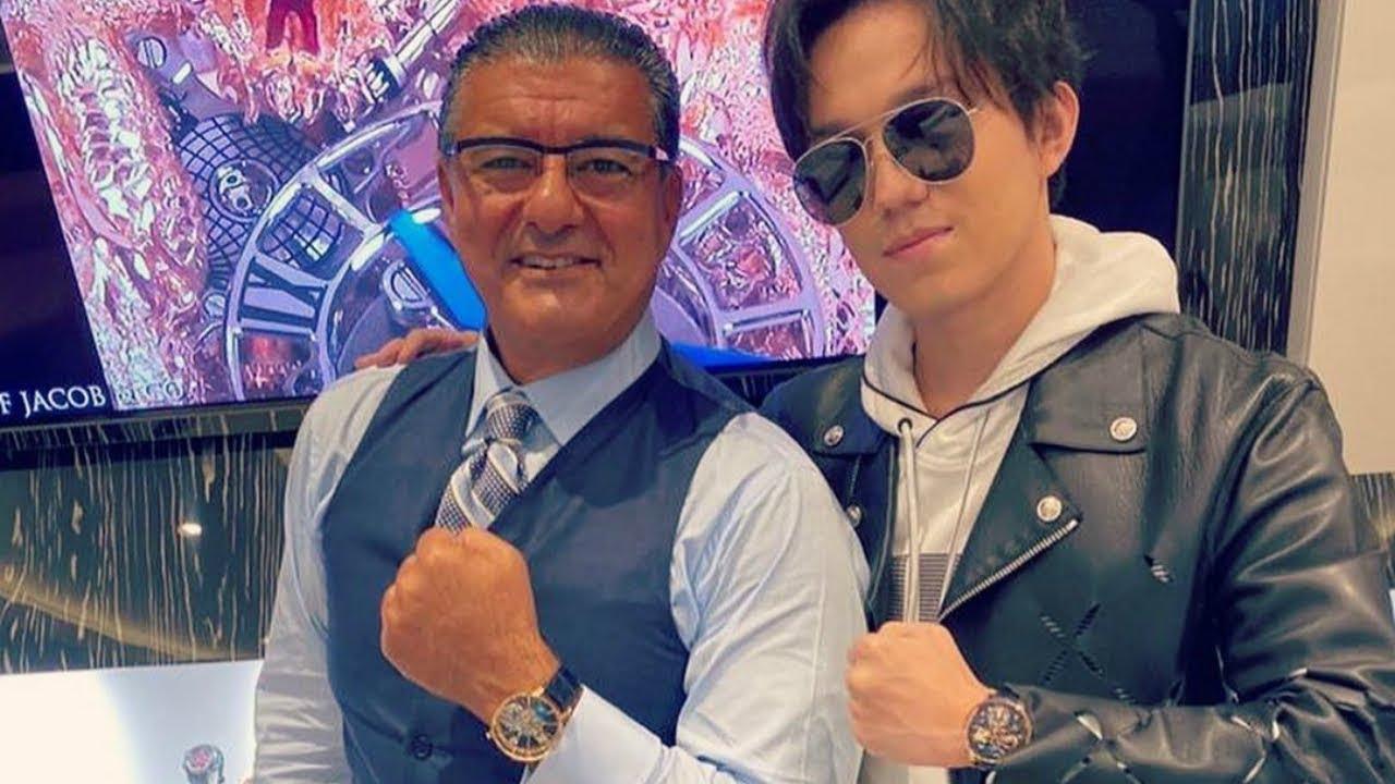Димаш Кудайберген стал лицом мирового бренда часов
