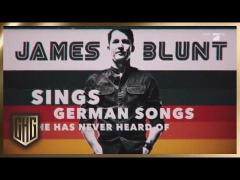 James Blunt sings German Songs he never heard of | Circus HalliGalli | ProSieben
