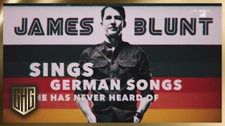 James Blunt sings German Songs he never heard of | Circus HalliGalli