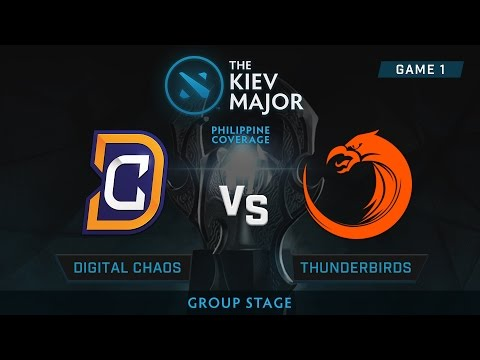 Digital Chaos vs TNC Pro Team | Kiev Majors : Group Stage | Philippine Coverage | Game 1