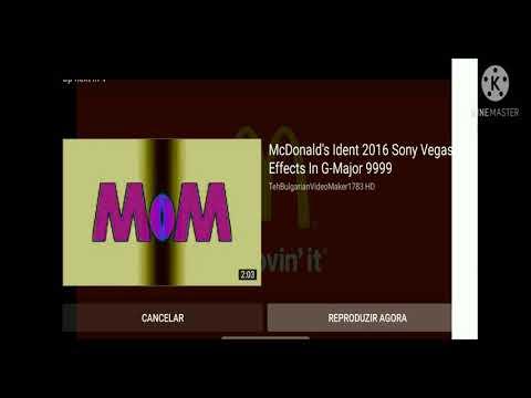 McDonald's Ident 2016 Effects (SBSMEKCMTMENPE)
