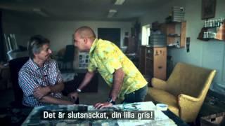 Lars Lerin träffar Mikael Persbrandt och Junior imiterar Gunvald Larsson