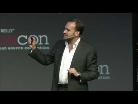 OSCON keynote Mark Shuttleworth