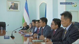Ознакомление делегацией Малайзии с ходом строительства проекта «Ургенч-сити»