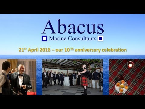 ABACUS MARINE CONSULTANTS' 10th anniversary video